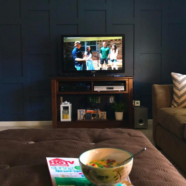 Its an hgtv and bowl of cereal kind of dayhellip