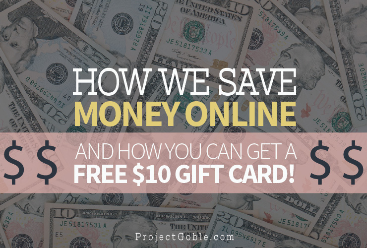 How we Save Money Online And How You Can To! ProjectGoble.com
