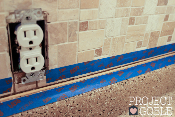 How To Install A Peel Amp Stick Mosaic Tile Kitchen