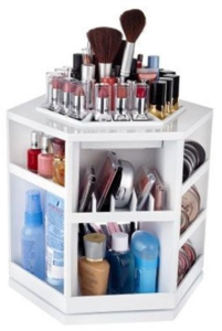 White Makeup Organizer - ProjectGoble.com