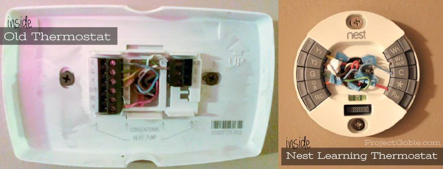Inside the Nest Learning Thermostat - Save Money & Save Energy - www.ProjectGoble.com