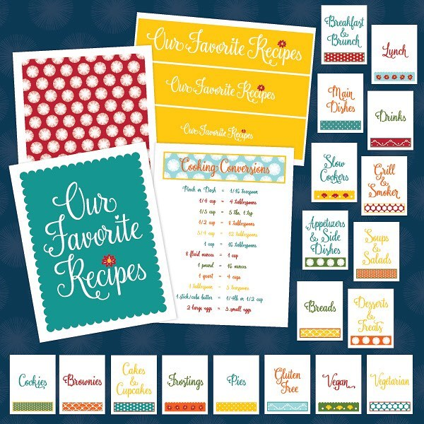 We just sold our 250th printable Recipe Binder Kit! Tohellip