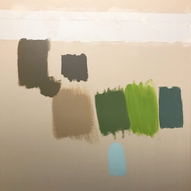 Ive never enjoyed tests BUT testing out paint samples ishellip