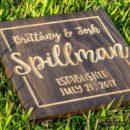 Couples-Name-Established-Sign-Carved