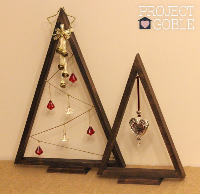 DIY Wooden Ornament Tree