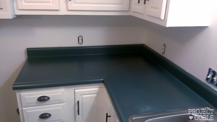 Kitchen - Before Cabinet & Countertop Transformation