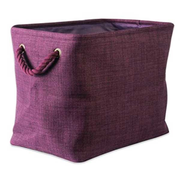 dii-collapsible-polyester-laundry-basket-eggplant